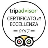 Certificato Eccellenza TripAdvisor 2017