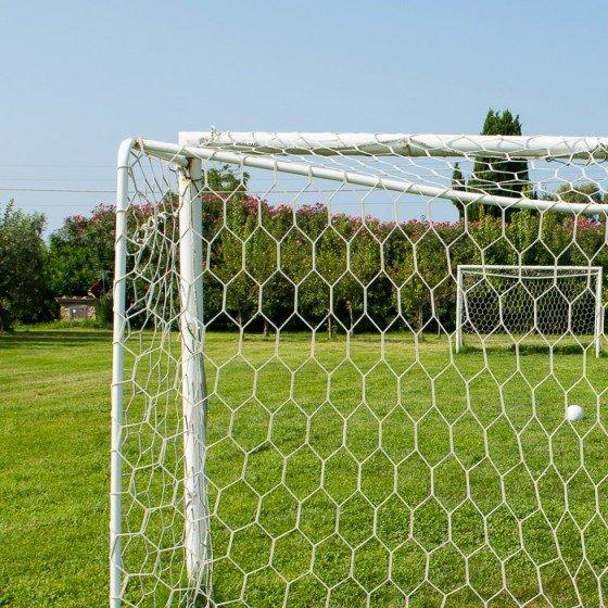 Il campo da calcio